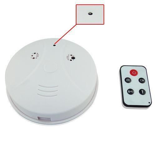 wireless smoke detector camera ebay. Black Bedroom Furniture Sets. Home Design Ideas