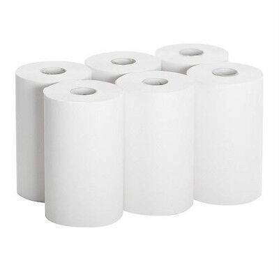 26610 Paper Towel Roll 1-ply Hardwound 9 Width X 400 Length Pack Of 6
