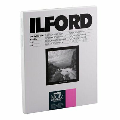 Ilford Multigrade IV RC Deluxe Resin Coated VC Variable Contrast - Black and