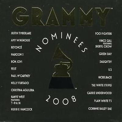 Various Artists   Grammy Nominees 2008 Cd  2008