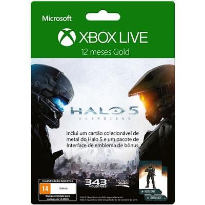 Xbox Gold Live 12 Months Card. Code inside card.
