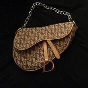Christian Dior Saddle Handbag