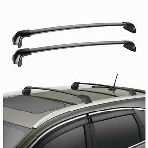 new cross bar roof racks for honda crv 2012 2015 13 14. Black Bedroom Furniture Sets. Home Design Ideas