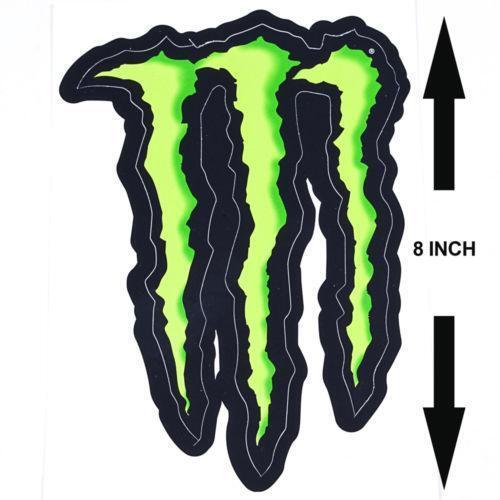 green monster energy stickers ebay. Black Bedroom Furniture Sets. Home Design Ideas