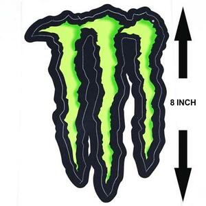 monster energy stickers vehicle parts accessories ebay. Black Bedroom Furniture Sets. Home Design Ideas