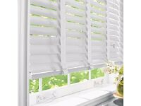 White Real Wood Venetian Blinds