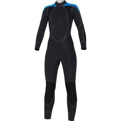 07a7b1d3c2 Bare 3mm Elastek Full Suit Women s Blue NEW