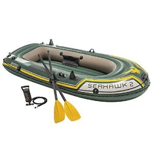 Intex Seahawk 4 Person Inflatable Boat Set for Sale!!