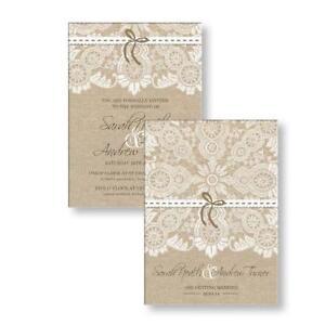 Personalised wedding invitations wedding supplies ebay wedding invitations filmwisefo Gallery
