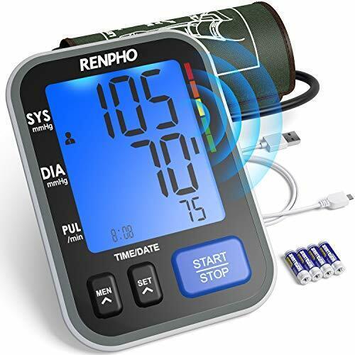 renpho blood pressure monitor upper arm bp