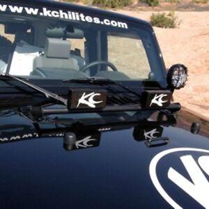 Kc hilites light bar ebay light bar kc hilites 7409 fits 07 13 jeep wrangler or mount hi lift jack aloadofball Images