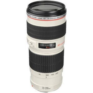 Canon EF 70-200mm f/4 L USM Lens for EOS 7D 5D 50D 60D Digital SLR Camera Kit