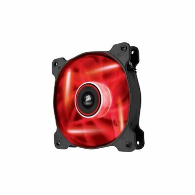 Corsair Air Series Af120 Led Red Quiet Edition High Airflow 120mm Fan - 1 (Corsair Air Series Af120 Led Red Quiet Edition)