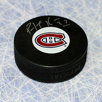 PATRICK ROY SIGNED PUCK