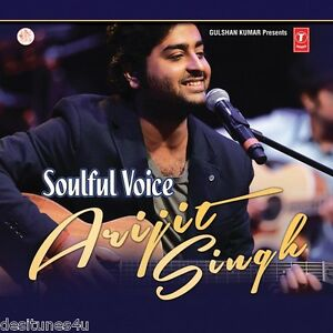 SOULFUL VOICE - ARIJIT SINGH - 2 CD BOLLYWOOD COMPILATION SET - FREE POST [ARJIT