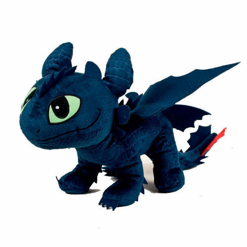 DreamWorks plush Dragons 40 sweet cm trainer entrenar has one size 32609