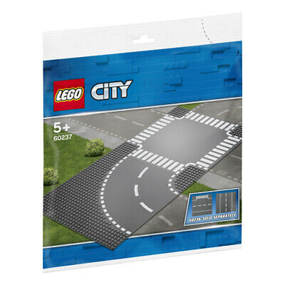 LEGO City - Curve and Crossroad base plates - 60237