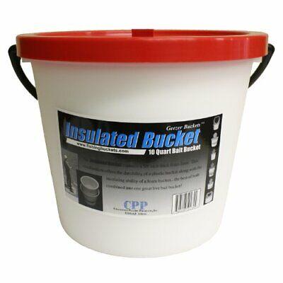 Challenge Bait Bucket Plastic 10 Qt Insulated