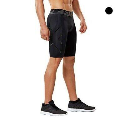 2XU Men's Accelerate Compression Shorts (Black/Nero, Medium)