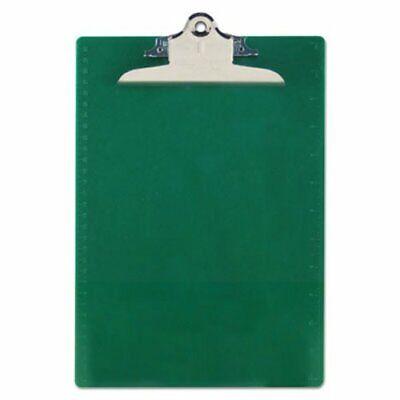 Saunders Plastic Antimicrobial Clipboard 1 Capacity Green Sau21604