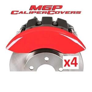OB MGP CALIPER COVERS 42006SJEPRD 201793324 SET OF 4 JEEP ENGRAVED COVER RED POWDER COAT FINISH OPEN BOX