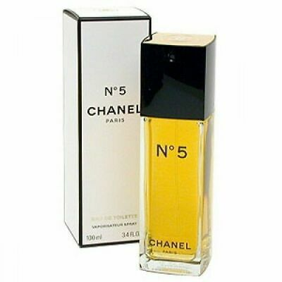 CHANEL # 5 Perfume 3.4oz / 100ml EDT Spray NEW IN SEALED BOX