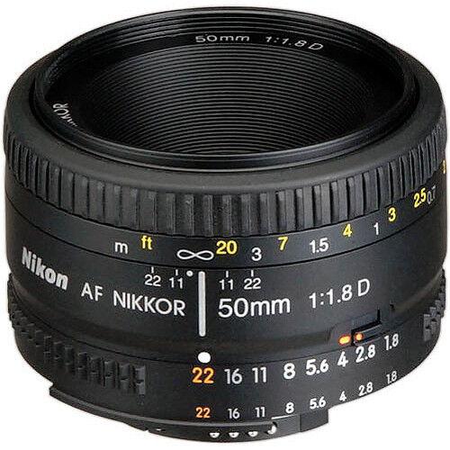 Nikon AF-S NIKKOR 50mm f/1.8G Special Edition Lens Black 2214