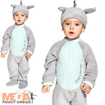 Vintage Eeyore Romper 3-24 Months Infant Fancy Dress Disney Donkey Baby Costume - Eeyore Infant Costume