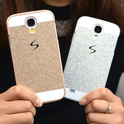 Luxury Bling Glitter PC Hard Case Back Cover For Various Samsung Galaxy Phone
