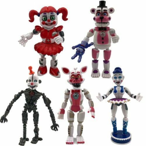 Model:Five Nights at Freddy's Sister Location:Justice League/Dragonball Z/The Avengers/FNAF/Sonic The Hedgehog Action Figures