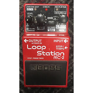 looking for a boss Rc2 looper pedal.