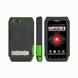 Trident Kraken AMS Case With Holster for Motorola DROID RAZR MAXX GREEN