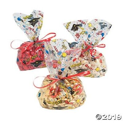 Graduation Favor Bags Goody Bags Multi Clear Decoration Favor Party Supplies (Clear Goodie Bags)