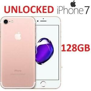 NEW APPLE IPHONE 7 128GB MN8P2LL/A 237744194 ROSE GOLD SMARTPHONE ELECTRONICS UNLOCKED