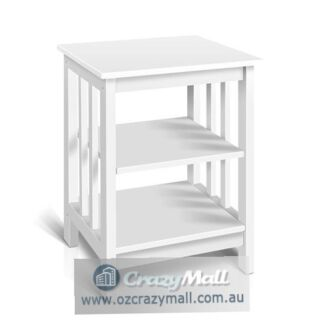 Premium Solid Pine Wood Timber Side Table
