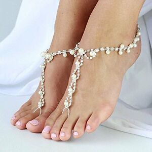 how to make foot jewelry beach wedding