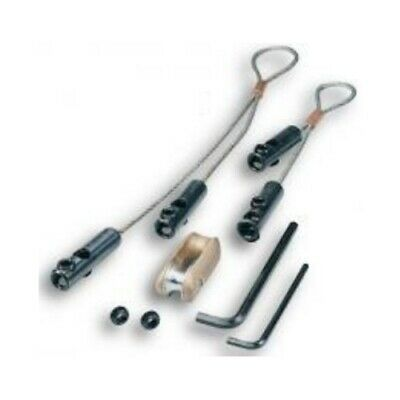 Greenlee 629 2 - Larger Conduit Wire Pulling Grip Kit With 6500 Lbs Capacity