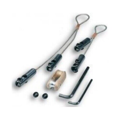 """Greenlee 629 2"""" - Larger Conduit Wire Pulling Grip Kit with 6500 lbs Capacity"""