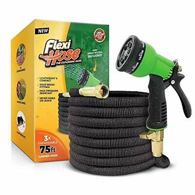 Flexi Hose Upgraded Expandable Garden Hose, Extra Strength, 3/4