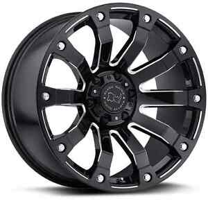 "Roues 20"" Wheels Dodge Ram 1500 Mag Roue Noir Black Rims Wheel"