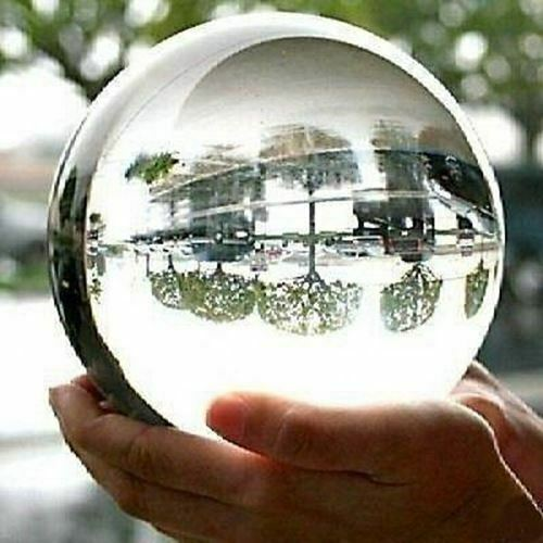 130mm Scrying Magic Psychic Medium Crystal Looking Gazing Ball Wizard