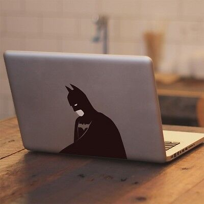 """Batman with Glowing Face Decal Sticker for Apple Macbook Pro & Air 13"""" 15"""" 17"""""""