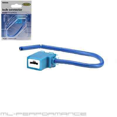 LAMPENFASSUNG H1/H3 Glühlampen-Sockel Keramik Stecker Kabel Ring RBH002 - NEU