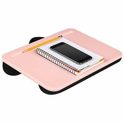 Compact Lap Desk - - Fits Up to 13.3 Inch Laptops - Single Unit Rose Quartz