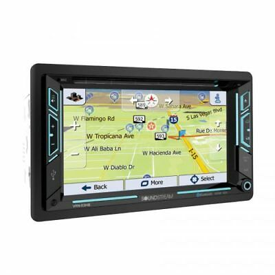 "Soundstream VRN-63HB DVD/CD Player 6.2"" GPS Navigation Bluetooth Android Link x2"