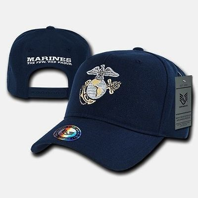 United States Us Marines Corps Usmc Officially Licensed Navy Baseball Cap Hat