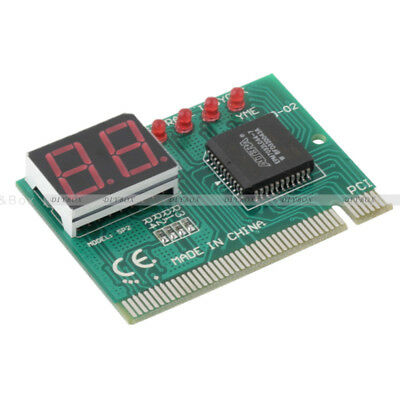 2-Digit PC PCI Diagnostic Card Motherboard Tester Analyzer Post for PC LAPTOP