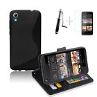 Mobile Phone Wallet Cases for HTC Desire 626