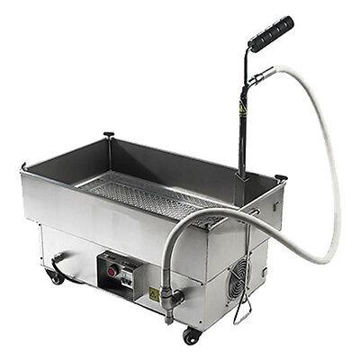 Adcraft Bdof-40 40 Lb Oil Capacity Oil Filtration System Fryer Filter