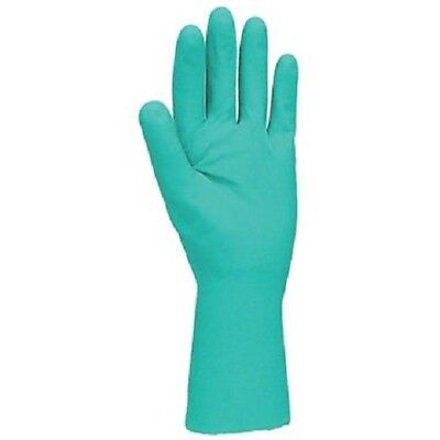 Green Nitrile Chemical Resistant Work Gloves Size 11